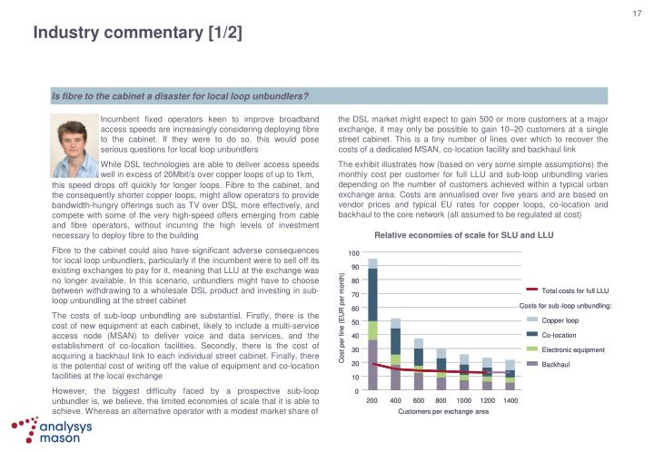 Industry commentary [1/2]