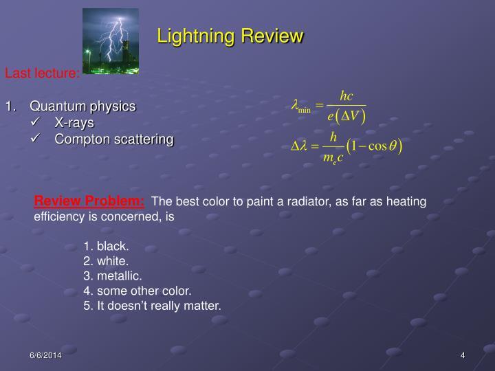 Lightning Review