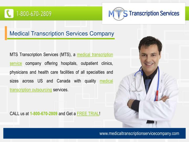 Medical Transcription Services Company