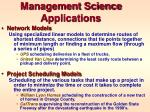management science applications1