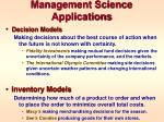management science applications2