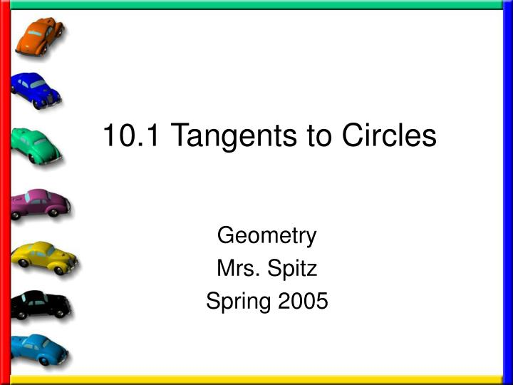 10 1 tangents to circles n.