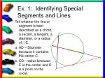 ex 1 identifying special segments and lines2