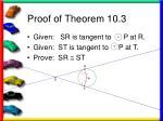 proof of theorem 10 3