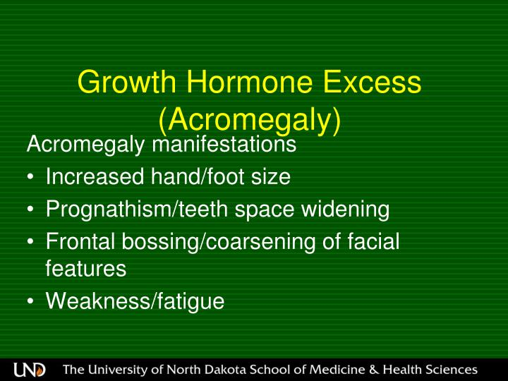 Growth Hormone Excess (Acromegaly)