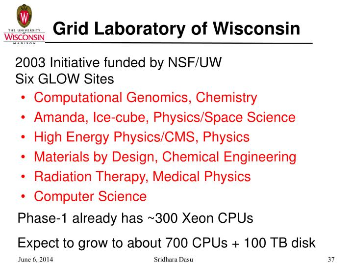 Grid Laboratory of Wisconsin