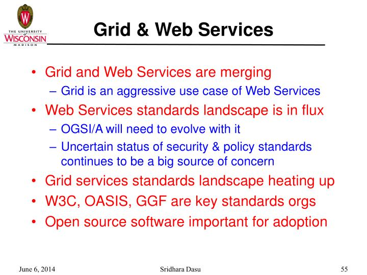Grid & Web Services