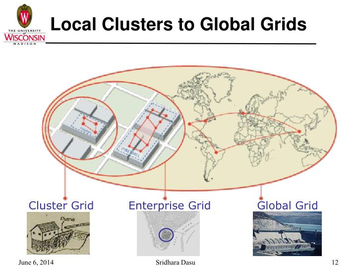 Local Clusters to Global Grids