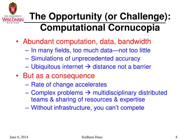The Opportunity (or Challenge):