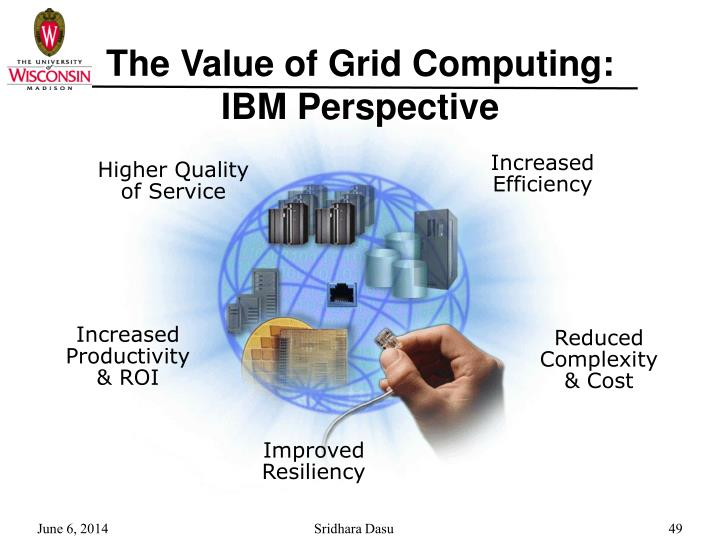 The Value of Grid Computing:
