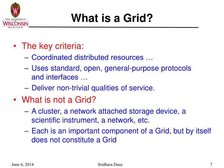 What is a Grid?