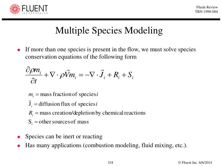 Multiple Species Modeling