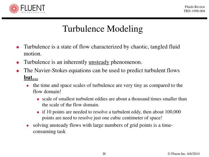 Turbulence Modeling