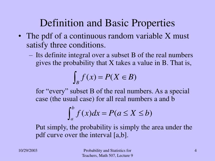 Definition and Basic Properties