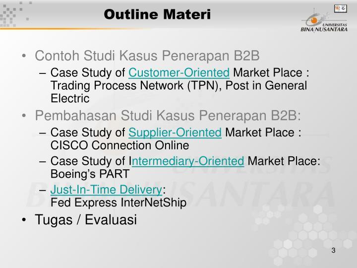 Ppt Pertemuan 4 Contoh Model E Business Powerpoint Presentation