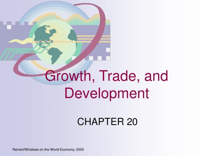 Growth trade and development