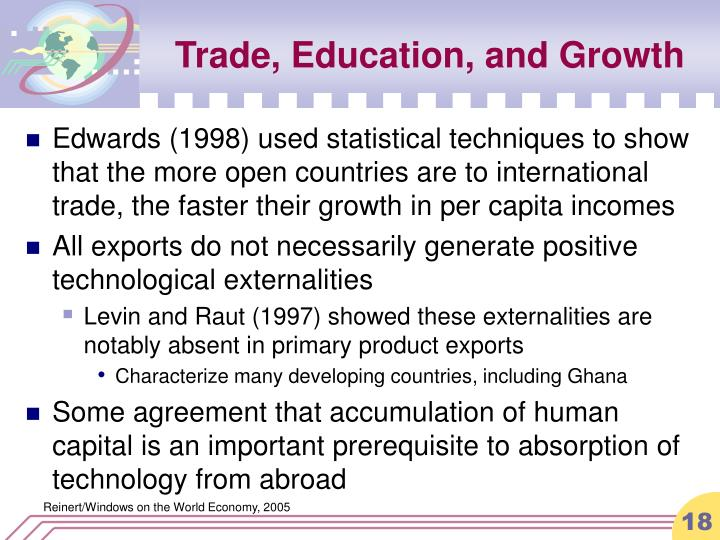 Trade, Education, and Growth