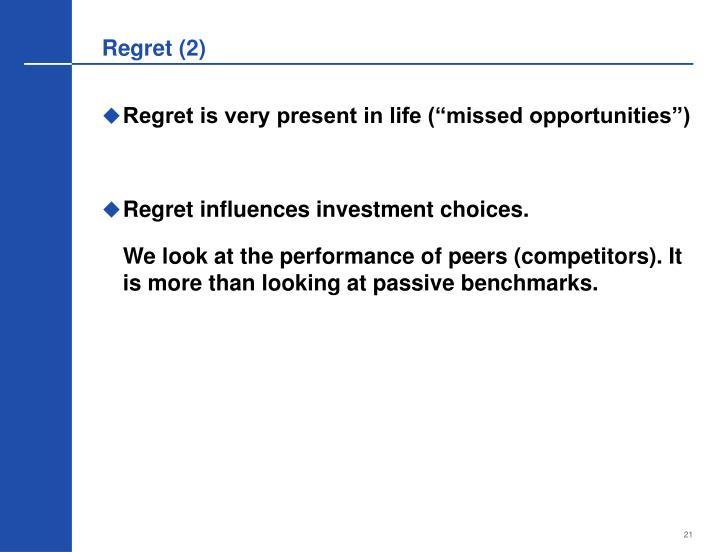 Regret (2)