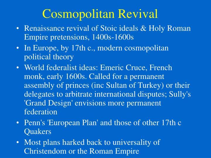 Cosmopolitan Revival
