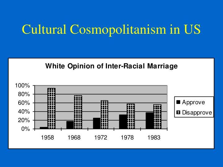 Cultural Cosmopolitanism in US