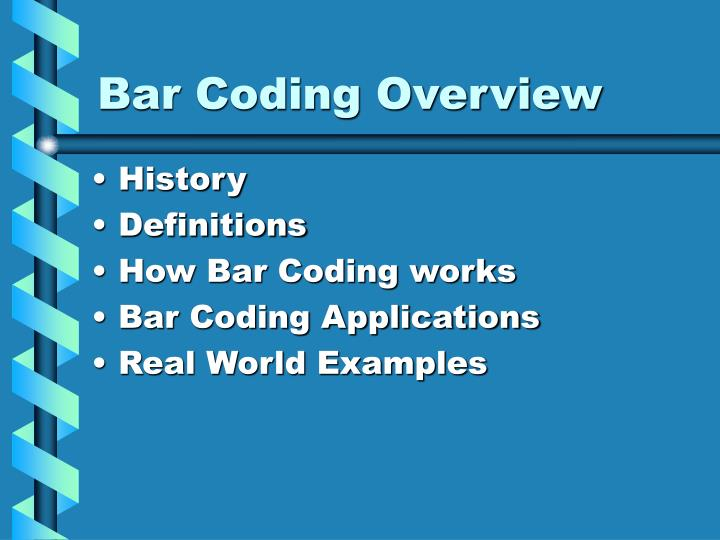 electronic bar coding and no interruption zones Bar-code scanning (emar) has decreased errors in administration by 51%, and computerized physician the use of electronic bar codes on medication labels and packaging has the potential to improve patient safety avoid conversation with others follow agency's no-interruption zone policy.