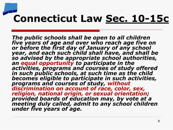 Connecticut Law