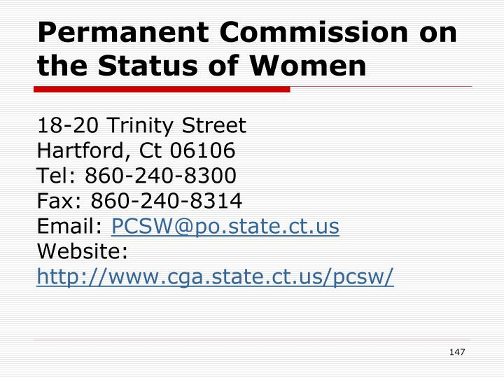 Permanent Commission on the Status of Women