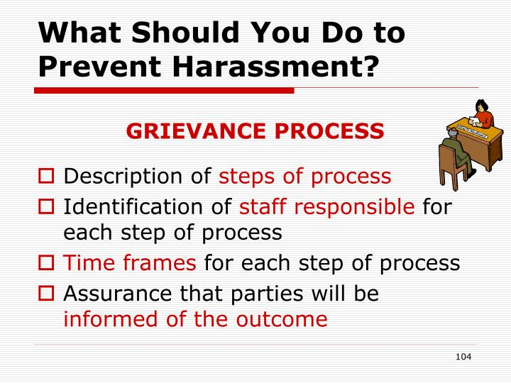 What Should You Do to Prevent Harassment?