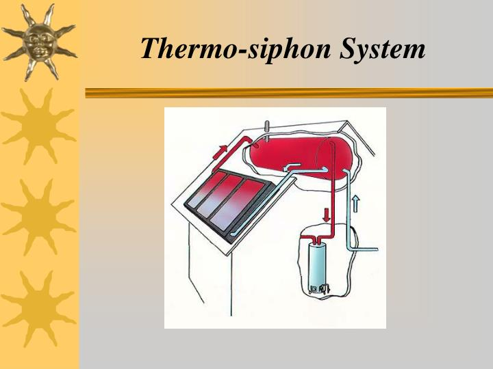 Thermo-siphon System