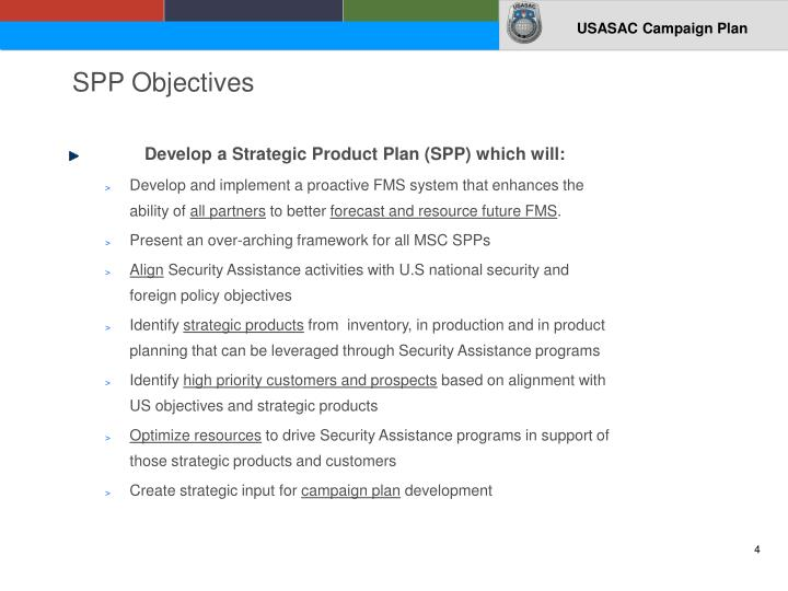 SPP Objectives