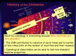 relativistic neutrinos