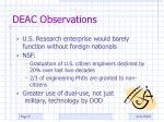 deac observations1