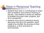steps in reciprocal teaching2