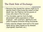 the dark side of exchange