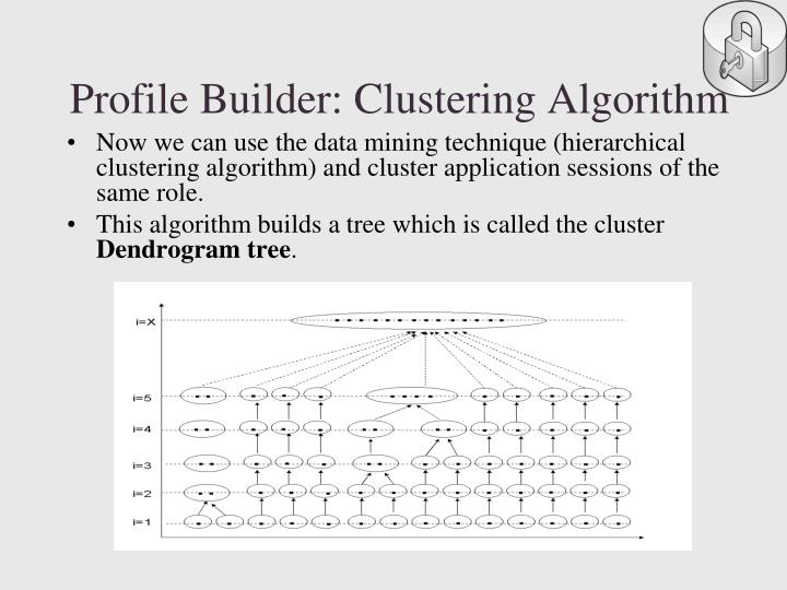 Profile Builder: Clustering Algorithm
