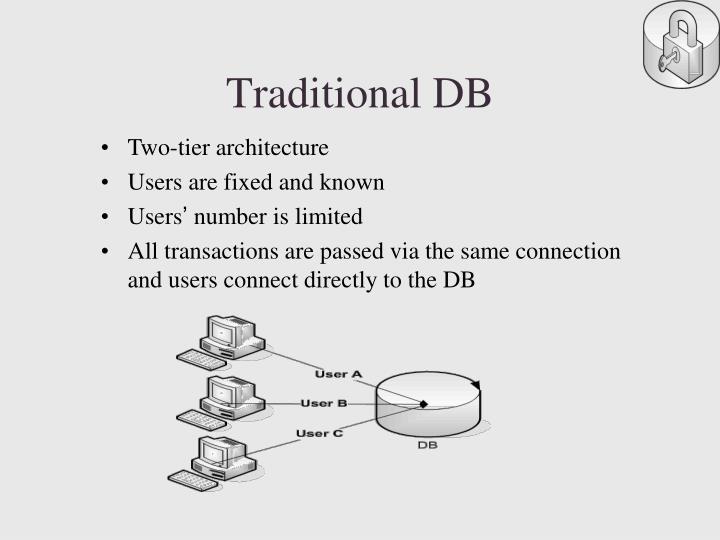 Traditional db