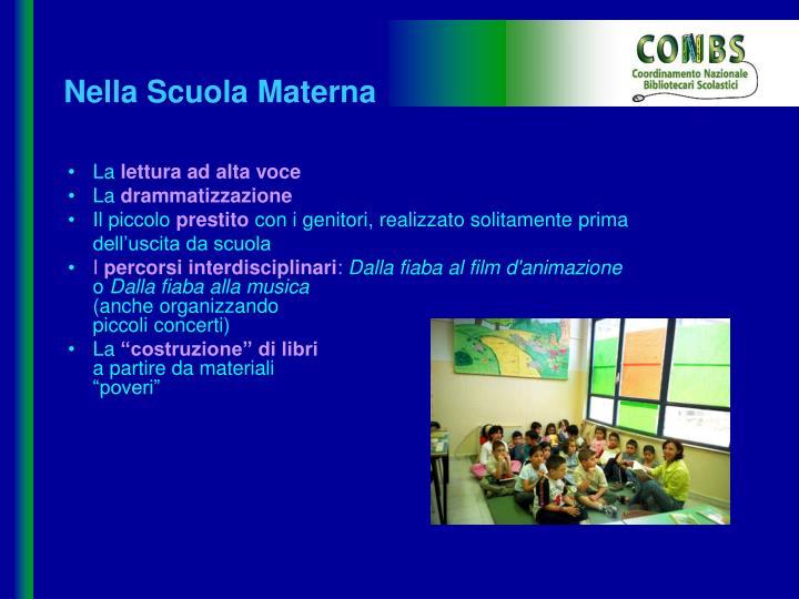 Nella Scuola Materna