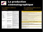 la production cin matographique3