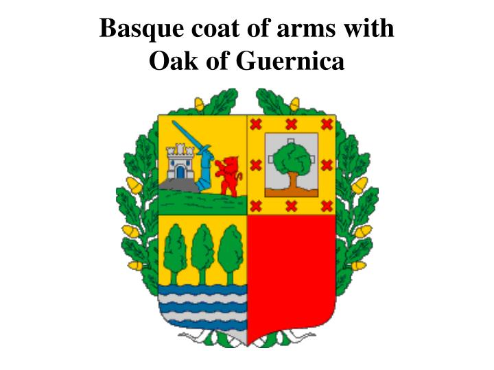 Basque coat of arms with