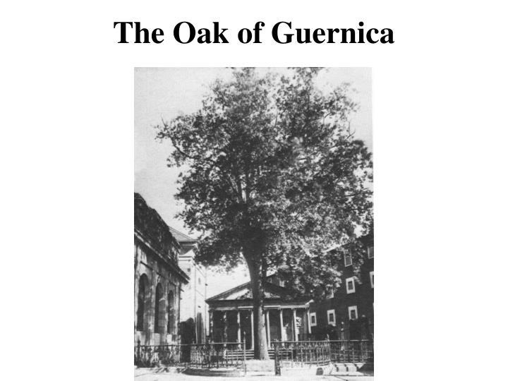 The Oak of Guernica
