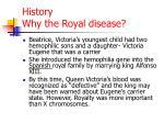 history why the royal disease1