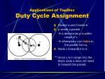 applications of topdisc duty cycle assignment1