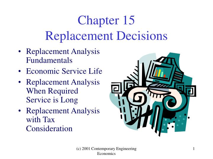 Chapter 15 replacement decisions
