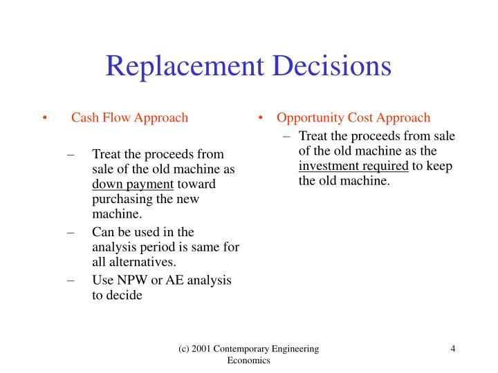 Cash Flow Approach