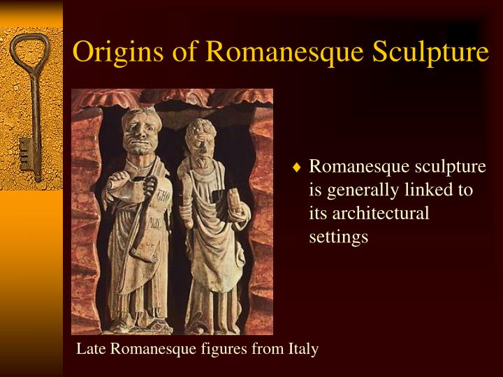 Late Romanesque figures from Italy