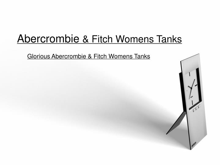 Abercrombie fitch womens tanks