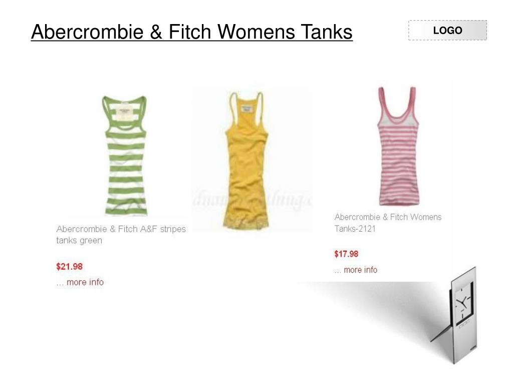 Abercrombie & Fitch Womens Tanks