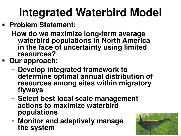 Integrated Waterbird Model