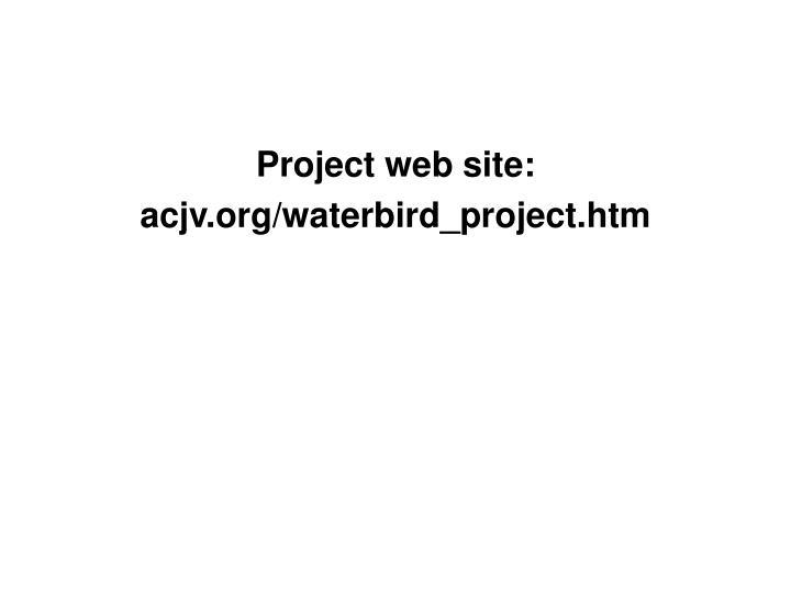 Project web site: