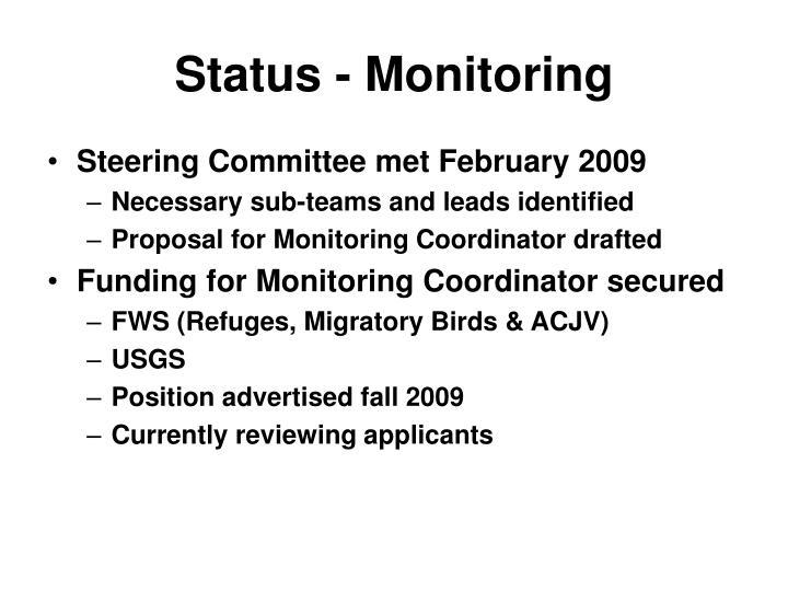 Status - Monitoring